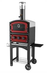 Fornetto Wood Fired Oven Red(with cover)